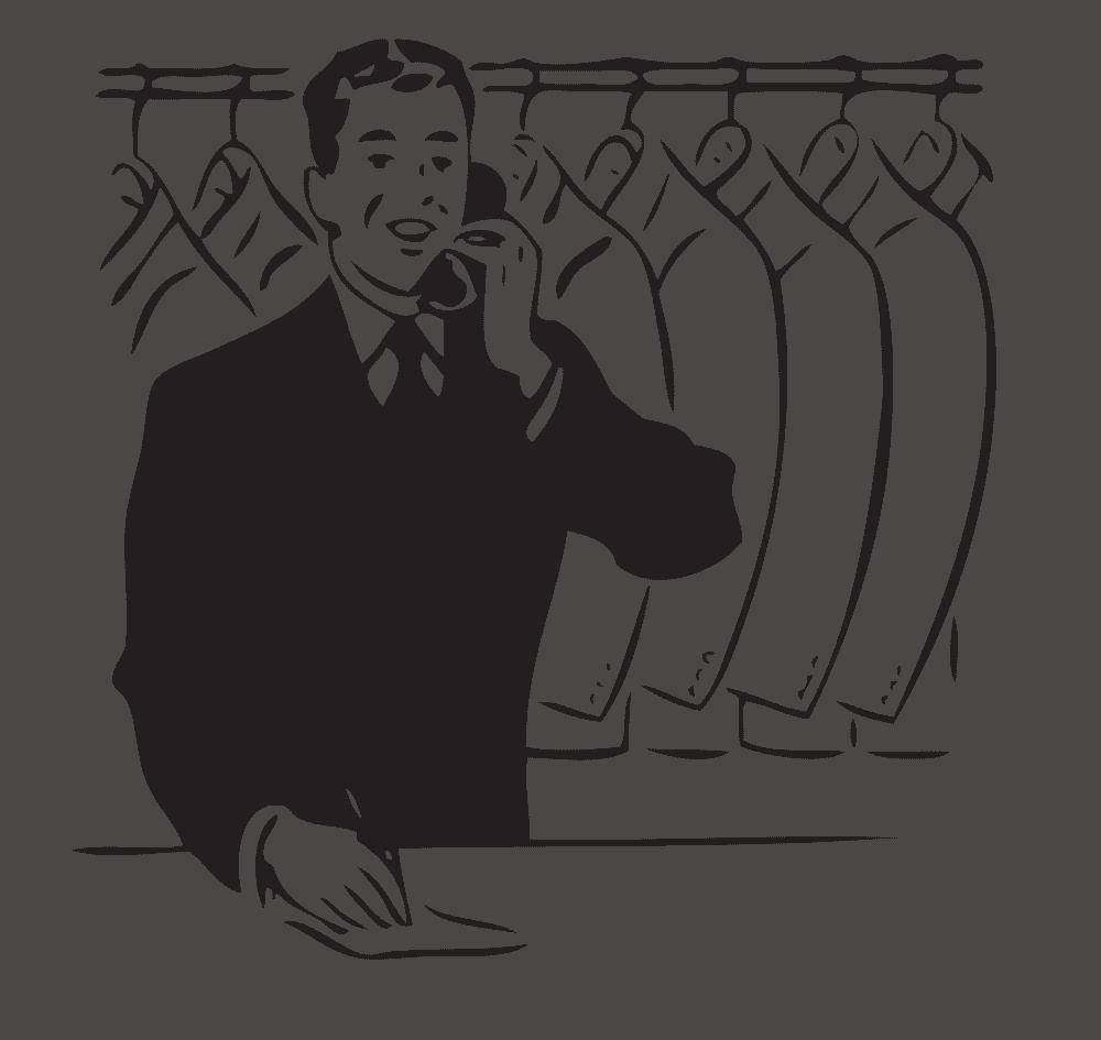 stomerij dienst den haag wassenaar thuis dry cleaning service