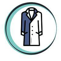 coat dry cleaning service mantel stomen winter coats