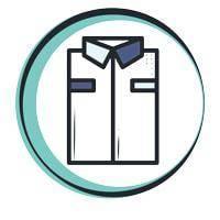 overhemden dienst gevouwen schoon persen strijken shirt ironed pressed folded overhemd gestoomd strijken gevouwen
