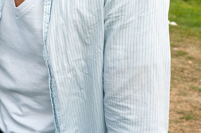 kreukels overhemd outfit slordig